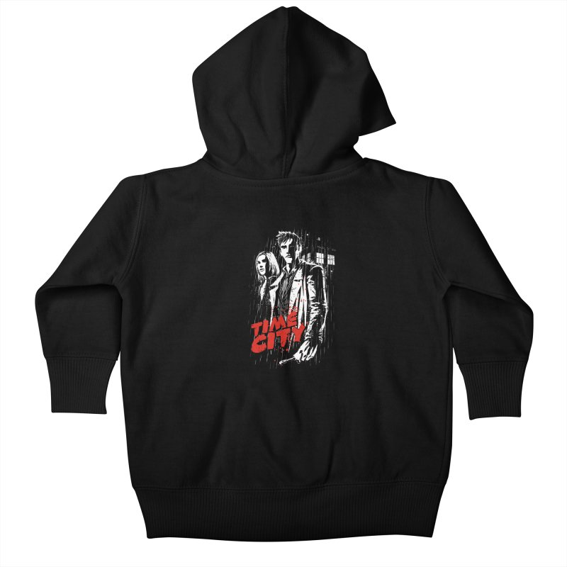 Time City Kids Baby Zip-Up Hoody by fuacka's Artist Shop