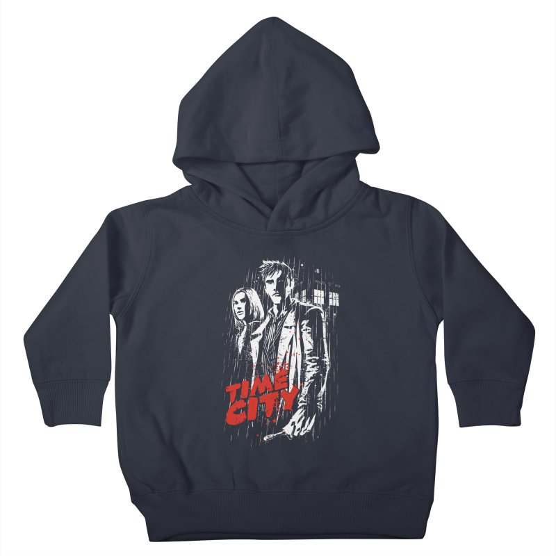 Time City Kids Toddler Pullover Hoody by fuacka's Artist Shop