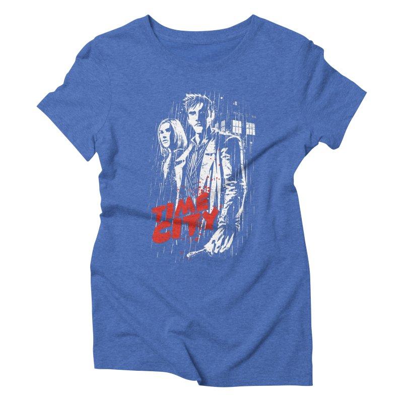 Time City Women's Triblend T-shirt by fuacka's Artist Shop