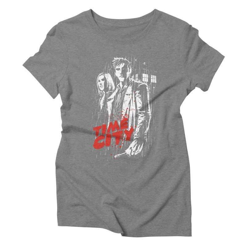 Time City Women's Triblend T-Shirt by fuacka's Artist Shop