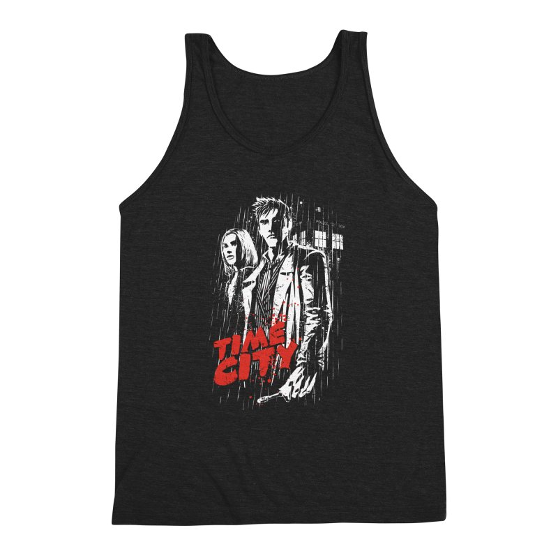 Time City Men's Triblend Tank by fuacka's Artist Shop