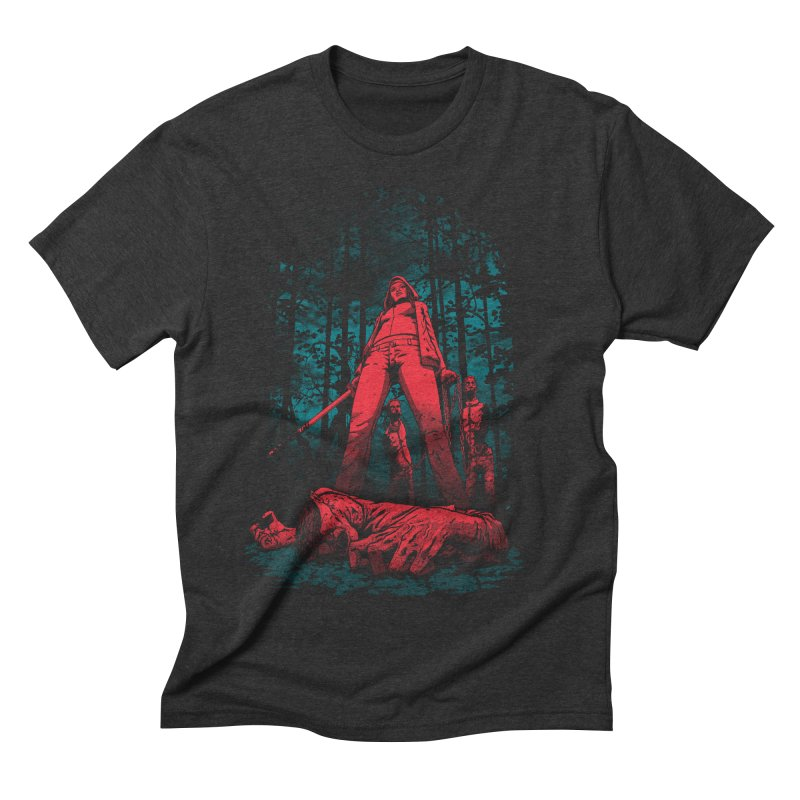 Huntress Men's Triblend T-shirt by fuacka's Artist Shop