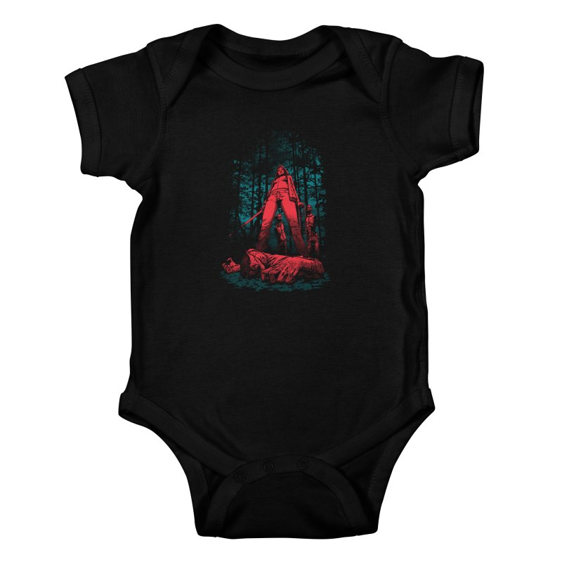 Huntress Kids Baby Bodysuit by fuacka's Artist Shop