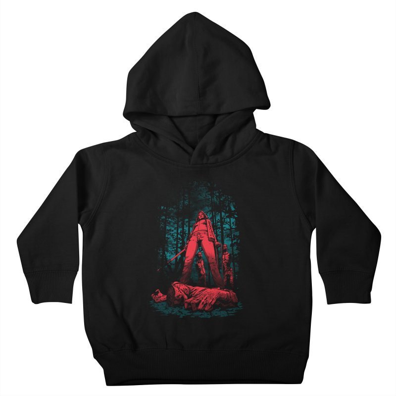 Huntress Kids Toddler Pullover Hoody by fuacka's Artist Shop