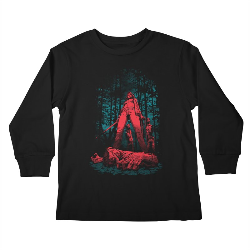 Huntress Kids Longsleeve T-Shirt by fuacka's Artist Shop
