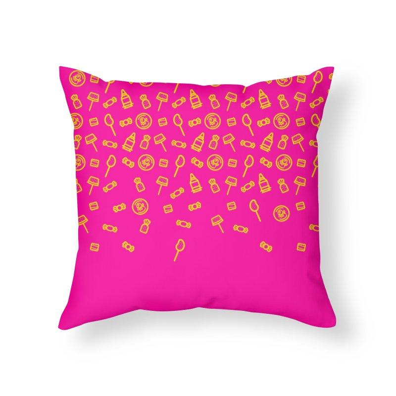 Piñata Fart Home Throw Pillow by Fuchila