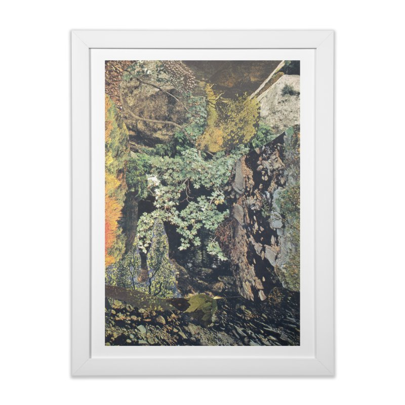 Ivan Zoloto — Fire Ocean 1 Home Framed Fine Art Print by fullofno's Artist Shop