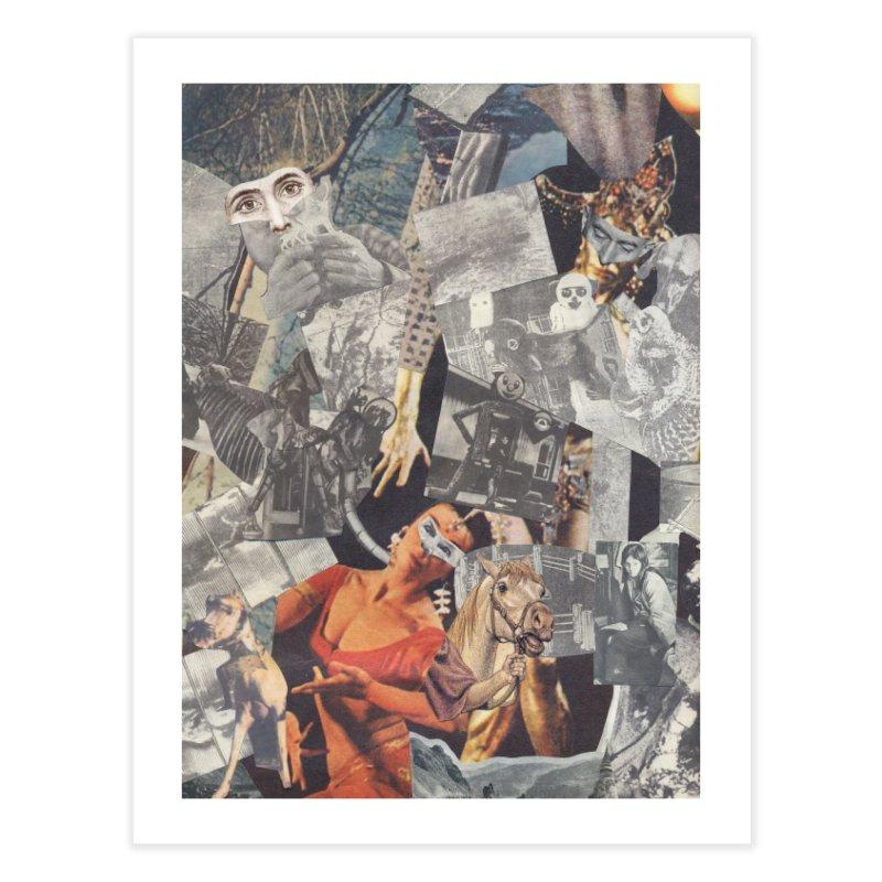 Ivan Zoloto — Fire Ocean 3 Home Fine Art Print by fullofno's Artist Shop