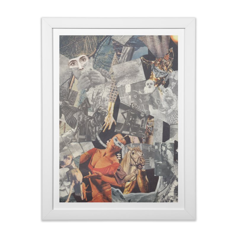 Ivan Zoloto — Fire Ocean 3 Home Framed Fine Art Print by fullofno's Artist Shop