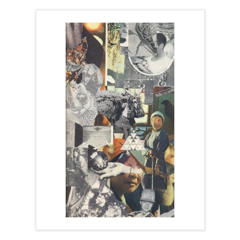 Ivan Zoloto — Fire Ocean 4 Home Fine Art Print by fullofno's Artist Shop