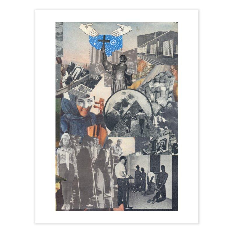 Ivan Zoloto — Fire Ocean 5 Home Fine Art Print by fullofno's Artist Shop