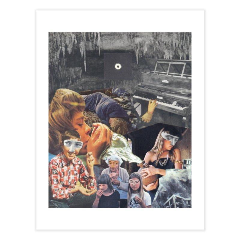 Ivan Zoloto — Fire Ocean 6 Home Fine Art Print by fullofno's Artist Shop