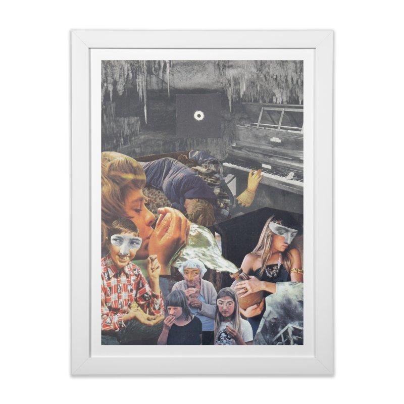 Ivan Zoloto — Fire Ocean 6 Home Framed Fine Art Print by fullofno's Artist Shop
