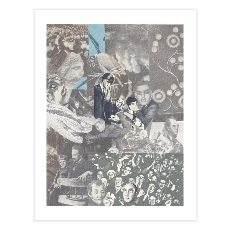 Ivan Zoloto — Fire Ocean 7 Home Fine Art Print by fullofno's Artist Shop