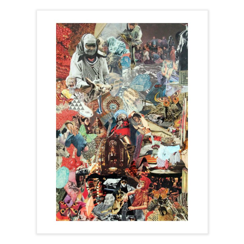 Ivan Zoloto — Fire Ocean 8 Home Fine Art Print by fullofno's Artist Shop