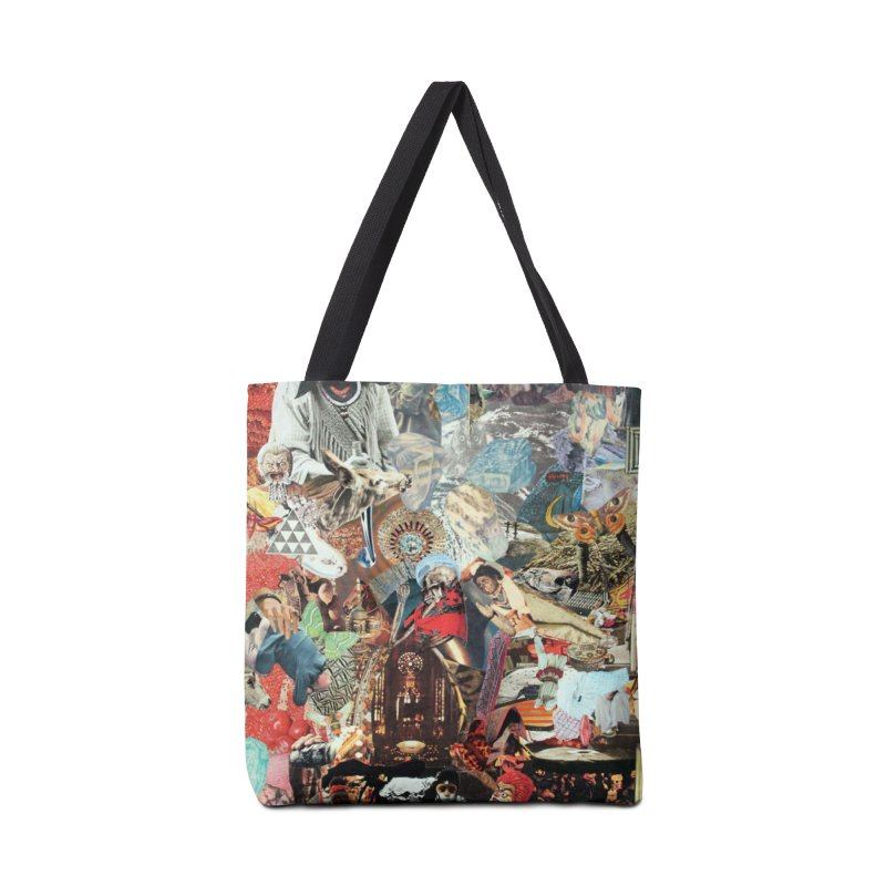Ivan Zoloto — Fire Ocean 8 Accessories Bag by fullofno's Artist Shop