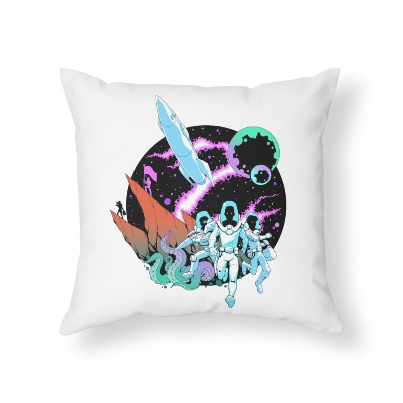 Zont! Home Throw Pillow by Funked