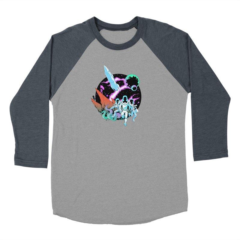 Zont! Women's Baseball Triblend Longsleeve T-Shirt by Funked