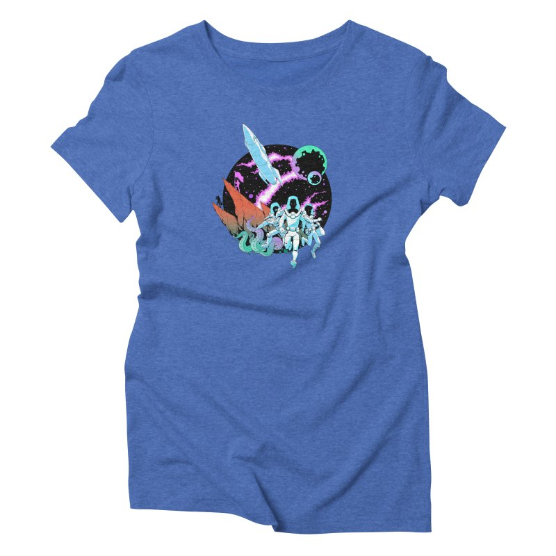 Zont! Women's Triblend T-Shirt by Funked