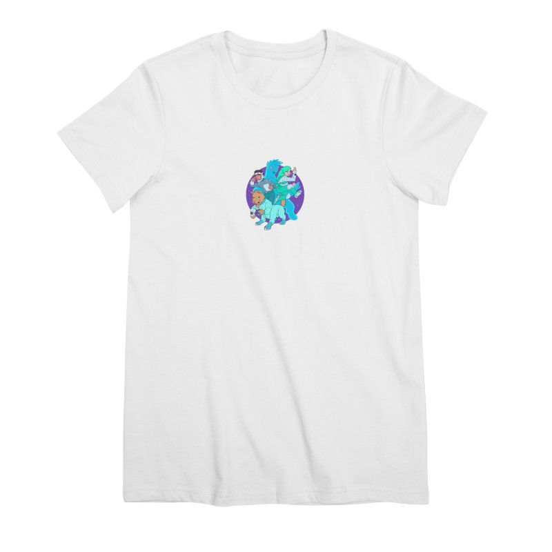 Star Jumpers! Women's Premium T-Shirt by Funked