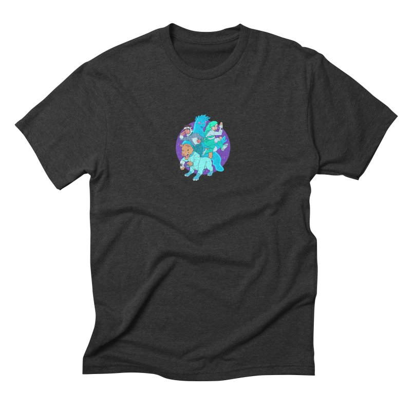 Star Jumpers! Men's Triblend T-Shirt by Funked