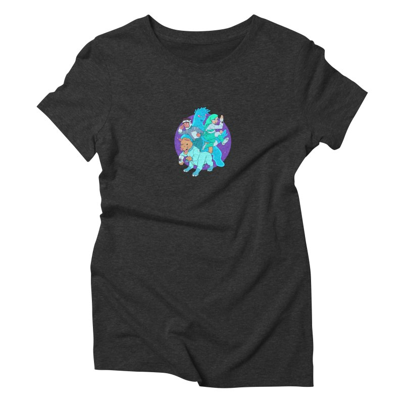 Star Jumpers! Women's Triblend T-Shirt by Funked