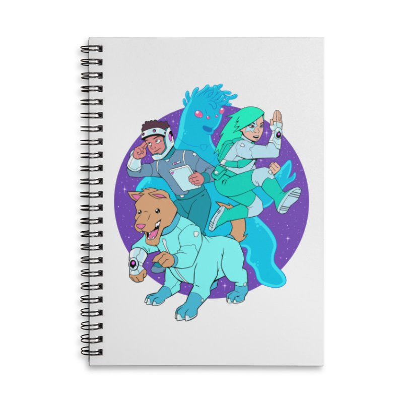 Star Jumpers! Accessories Lined Spiral Notebook by Funked