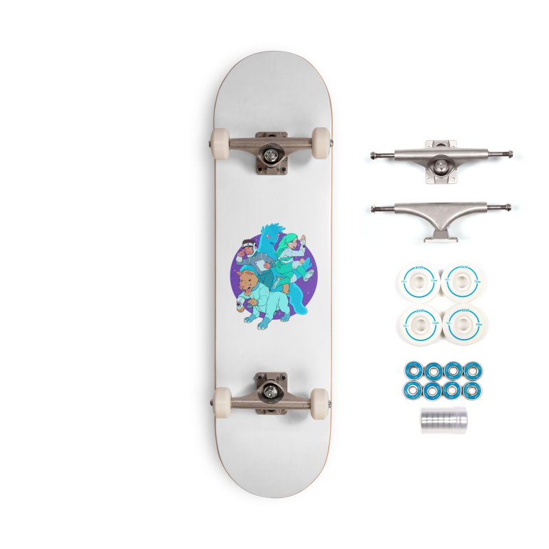 Star Jumpers! Accessories Complete - Basic Skateboard by Funked