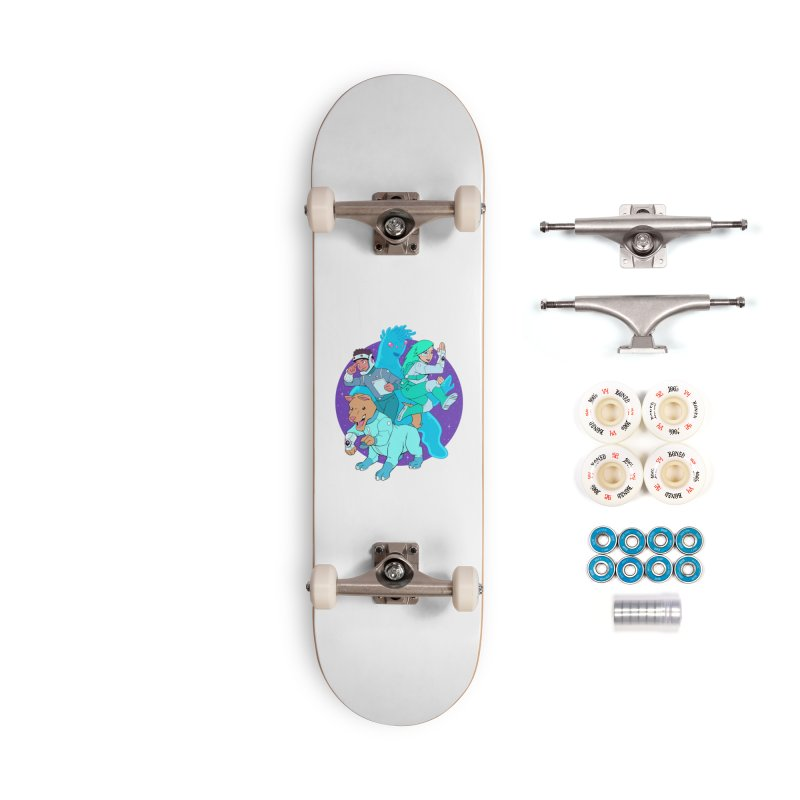 Star Jumpers! Accessories Complete - Premium Skateboard by Funked