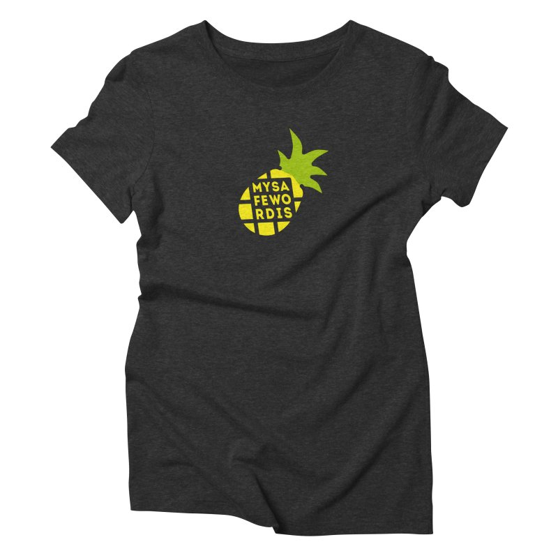 My Safe Word Is... Women's T-Shirt by Funked