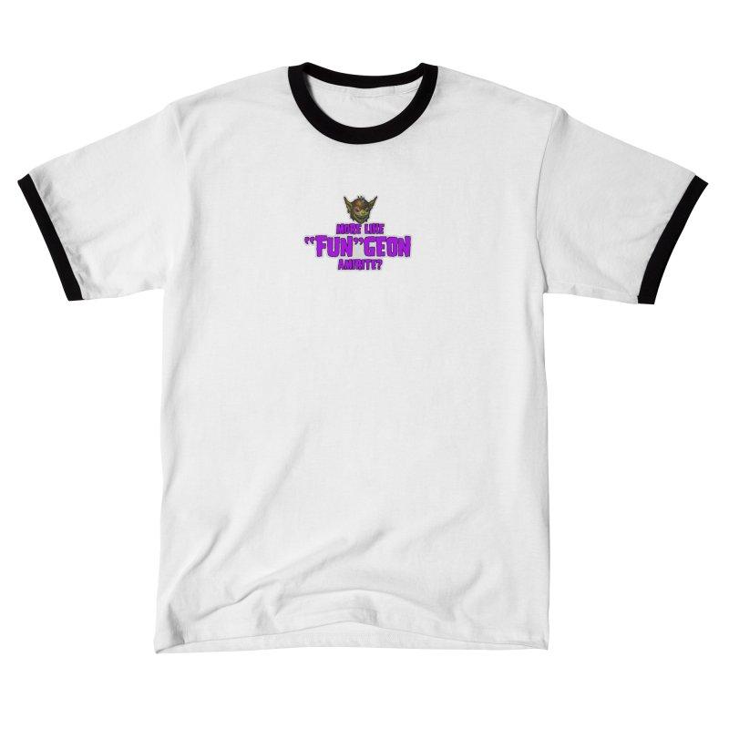 "More like ""Fun""Geon, Amirite? Women's T-Shirt by Funked"