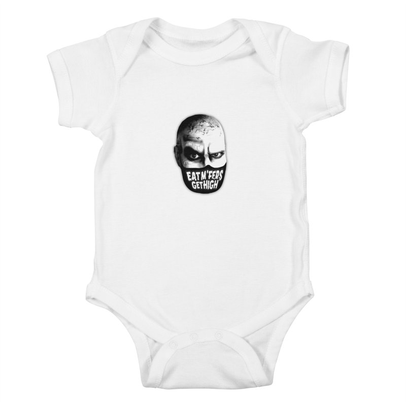 Eat M'Fers and Get High Kids Baby Bodysuit by Funked
