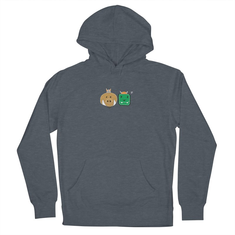 Poko And Cham Cham Men's French Terry Pullover Hoody by Funked