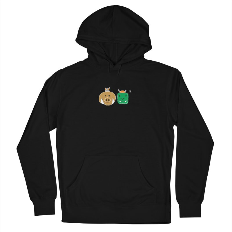 Poko And Cham Cham Men's Pullover Hoody by Funked