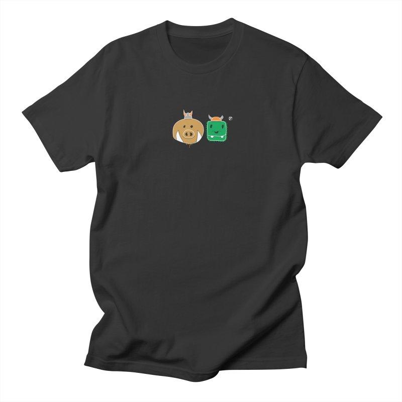 Poko And Cham Cham Men's Regular T-Shirt by Funked