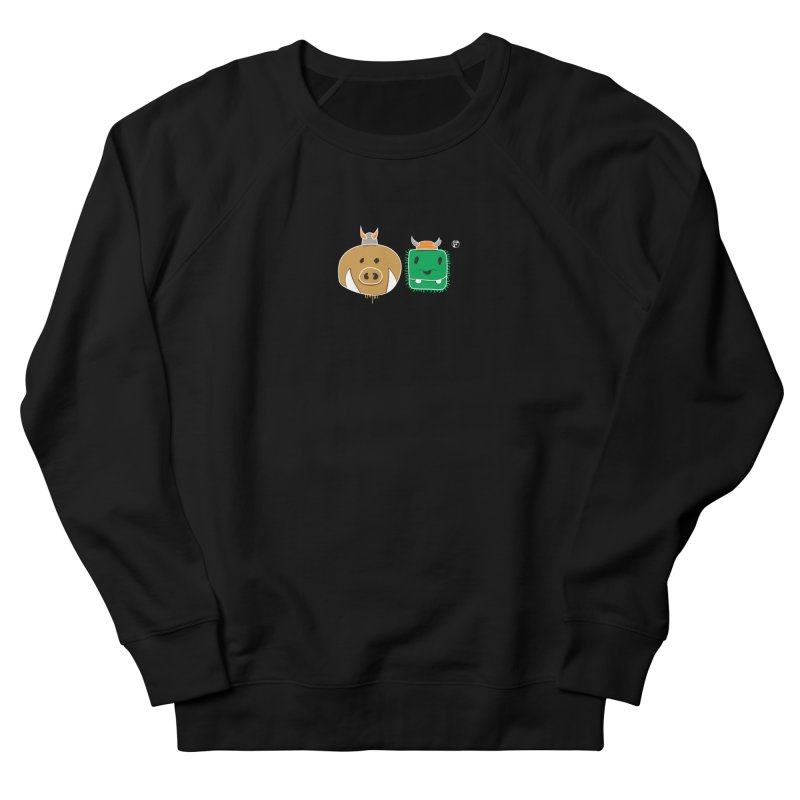 Poko And Cham Cham Men's French Terry Sweatshirt by Funked