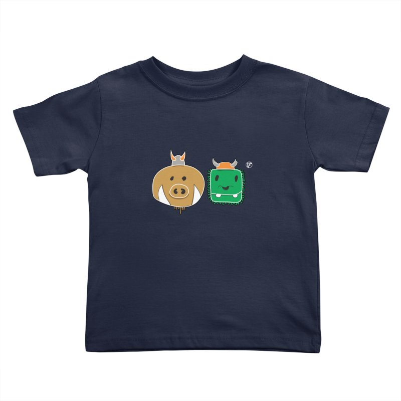 Poko And Cham Cham Kids Toddler T-Shirt by Funked