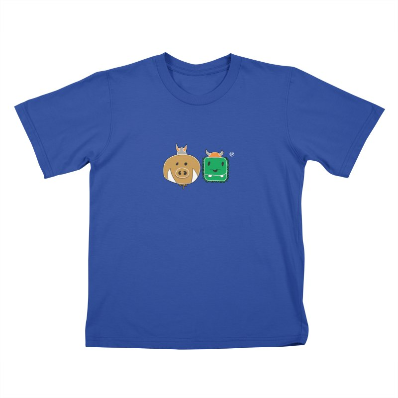 Poko And Cham Cham Kids T-shirt by Funked