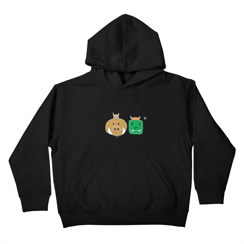 Poko And Cham Cham Kids Pullover Hoody by Funked