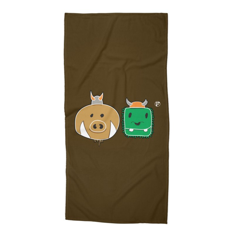 Poko And Cham Cham Accessories Beach Towel by Funked