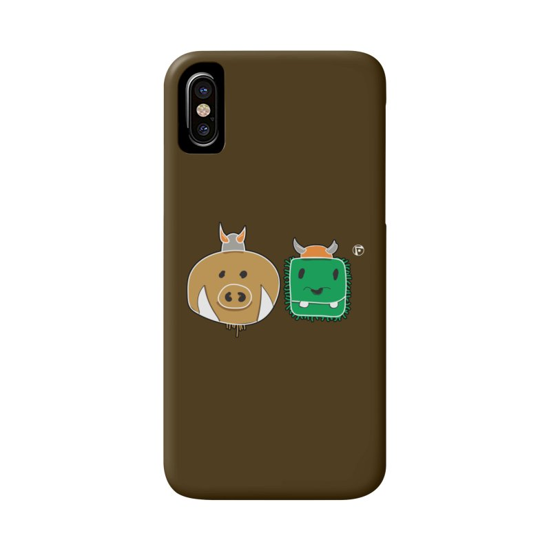 Poko And Cham Cham Accessories Phone Case by Funked