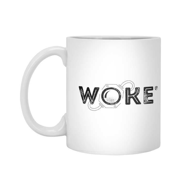 WOKE MUG Accessories Standard Mug by Funked