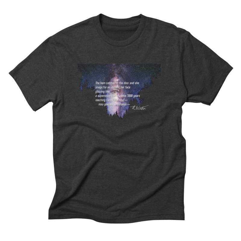 The Cartography of the Amazon Basin Kitchenette Men's Triblend T-Shirt by Funked