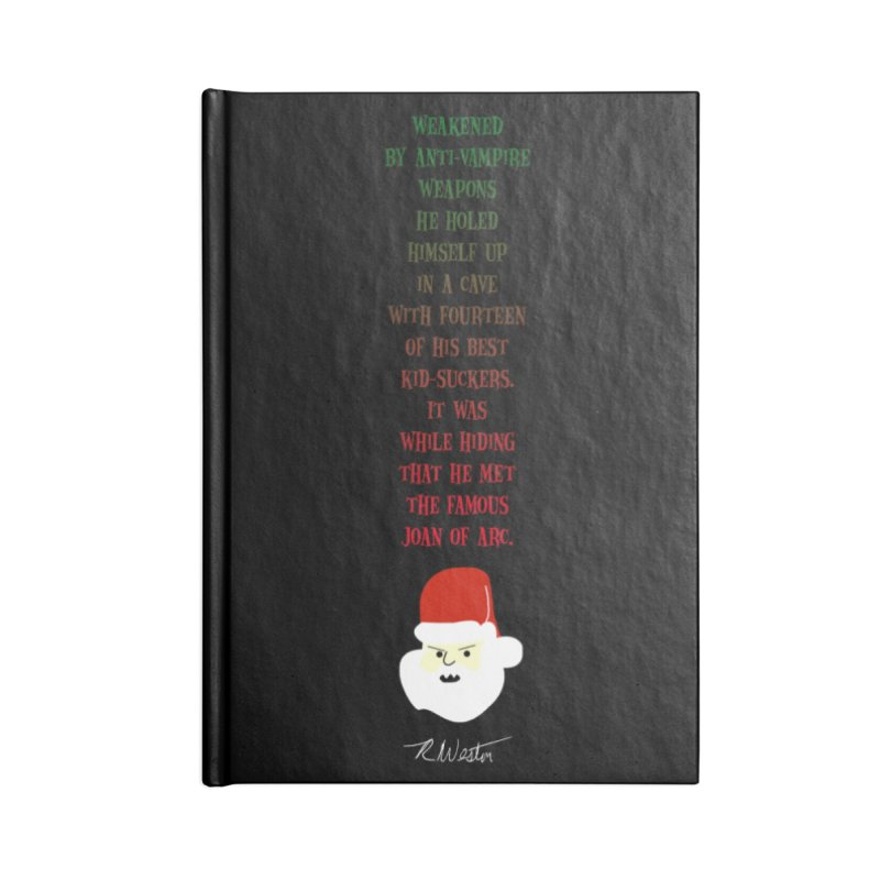 Santa's Secret Accessories Notebook by Funked