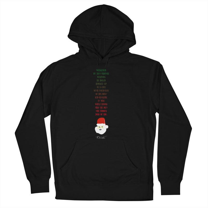 Santa's Secret Women's Pullover Hoody by Funked