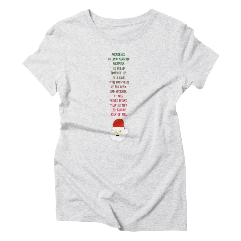 Santa's Secret Women's T-Shirt by Funked