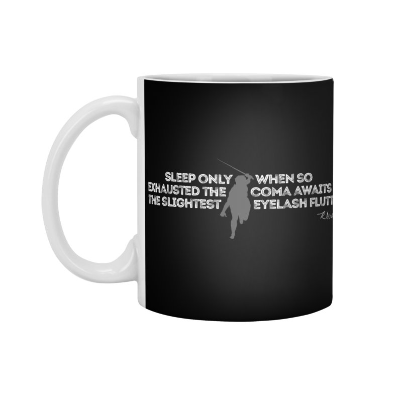 Sleep only... Accessories Standard Mug by Funked