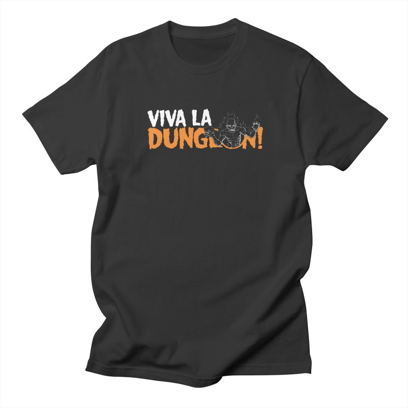 Viva La Dungeon! Men's T-Shirt by Funked