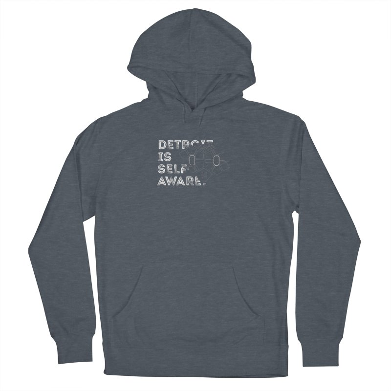 Detroit is Self-Aware (featuring Martius) Women's Pullover Hoody by Funked