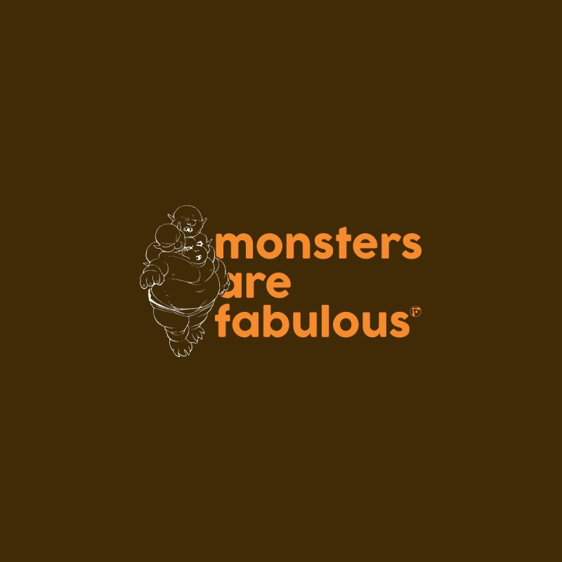 Monsters are fabulous. Women's Fitted T-Shirt by Funked